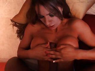그녀의 첫 번째 포르노 그는 3 번 cums