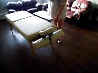 내가 내 장소와 새로운 마사지 테이블을 보여 드리겠습니다 :)