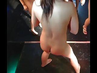 다이야 \u0026 일본 gogo girls 슈퍼 그룹 스트립 댄스 재미
