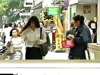 일본 유부녀가 유방암에 걸렸습니다.