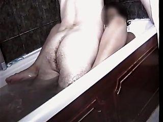 목욕중인 섹스