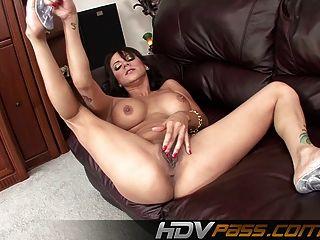hdvpass 나디아 스타일 손가락 그녀의 토끼와 엉덩이
