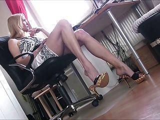 섹시한 여자 30 섹시한 발 뒤꿈치