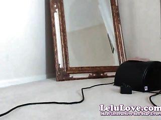lelu love webcam : 근접 촬영 알몸 twerking sybian 오르가즘