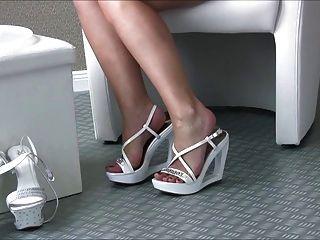 섹시한 발 뒤꿈치에 섹시한 여자 45