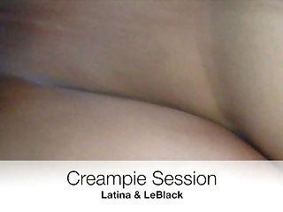 latina는 bbc로 creampie를 얻습니다.