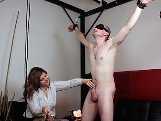 그녀의 노예를위한 lucrecia와 cbt의 처벌