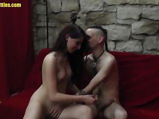 bj, 손목 띠와 섹스, 뜨거운 십대 사진 촬영