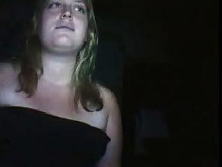 임신 한 여자와 함께 앞면 웹캠 커플