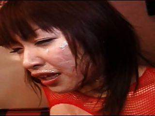 일본 굴욕 공개 얼굴 정액 산책 2