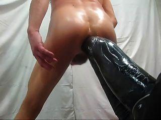 한 시간 후 내 엉덩이 구멍.