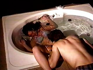 목욕 수중 섹스