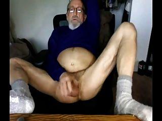호색한 구두 아빠 할아버지가 높고 알몸의 캠