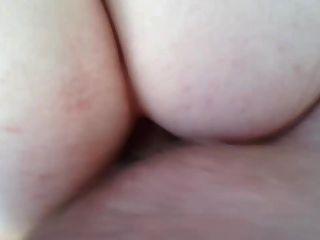나는 그녀의 엉덩이에 내 GF 항문과 정액 치오.