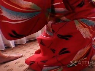날 불어 라! japanese geisha blowjob (무수정 jav)
