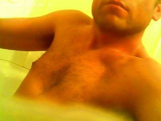 목욕탕에 나와 나와 수탉 펌프