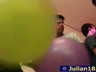 18 y.o. 줄리어스 생일 파티