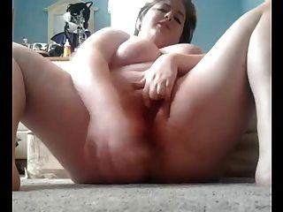 바닥에 통통한 오르가즘