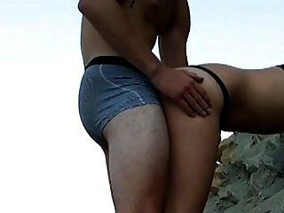 해변에서 씨발.