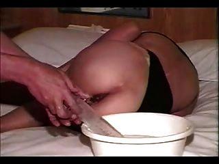 검열 한 가면을 쓴 여자는 큰 것을 사랑한다 pt2