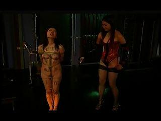 아시아 레즈비언 shibari 속박