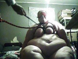 내 뚱뚱한 추한 흰색 bbc 걸레 돼지 노예 나쁜 내가 fetlife에서 만난