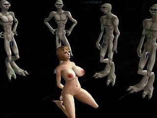 심즈 2 포르노 외계인 섹스 노예 부 2