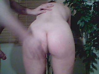 여자는 그녀의 엉덩이 카메라 1