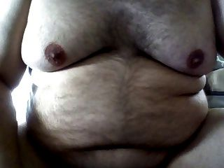 뚱뚱한 남자 유두 젖꼭지 놀이 자위