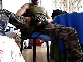 군대, 장갑 및 부츠