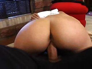 뜨거운 둥근 엉덩이 하드 엿