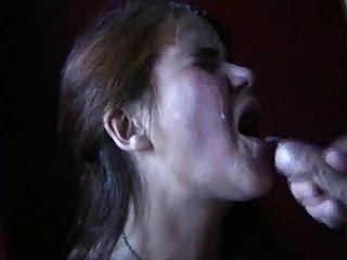 webman 스웨덴어 성숙한 여인 빨아 거시기와 얼굴을 얻을