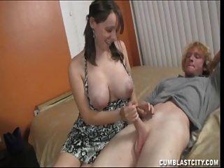 섹시한 숙녀를위한 큰 사만