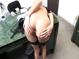 섹시 비서 제나 h blowjob pov