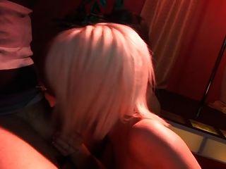 스타킹에 fffmm fivesome의 영국 매춘부