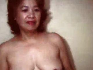 아주 오래된 중국 할머니
