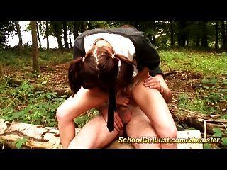 여학생은 숲에 망했다