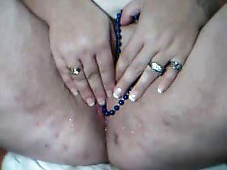 내 엉덩이가 구슬로 내리고있어.