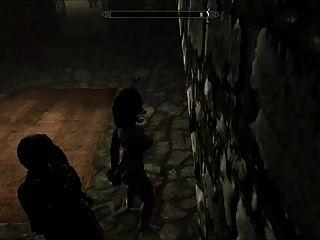 도주 된 skyrim slavegirl 09의 위험