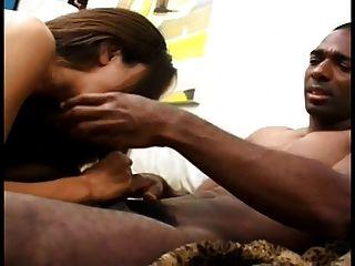 흑인 남자 엉덩이에 흥분 latina를 망 쳤어.
