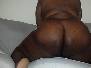 경고에 뚱뚱한 엉덩이