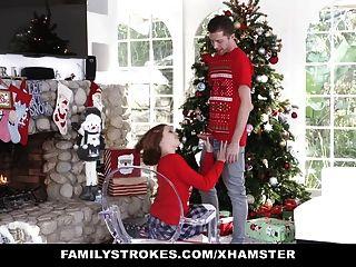 familystrokes는 크리스마스 동안 나의 sis를 망하게하고있다 크리스마스 사진