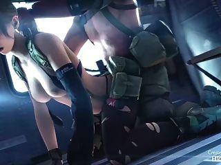 hmv 3d sfm 비디오 게임 아가씨 헨타이 음악 편집