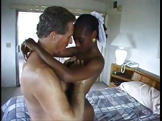 화려한 흑인 여성 백인 남자 4 빌어 먹을