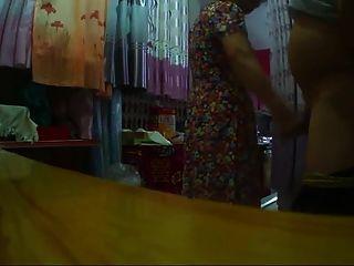 깜짝 놀란 중국 할머니 horry