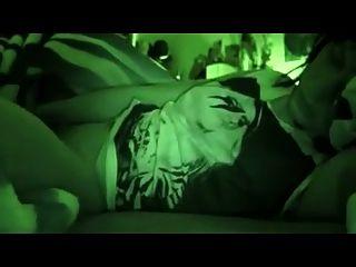 그녀의 침대에서 sooooo 좋은 밤 비전 셀카 오르가슴