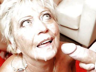 할머니는 거시기와 정액 사랑한다.
