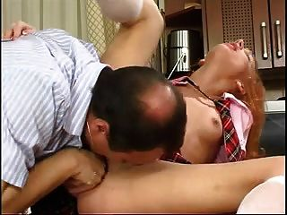 stp1 아빠는 학교 공부를 확인하고 그녀는 그 빌어 먹을!