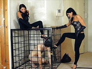 러시아 여성 굴욕과 노예 훈련