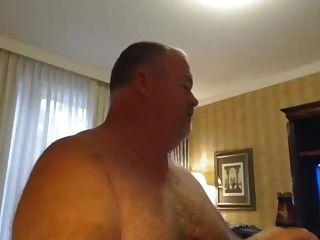 뚱뚱한 butch 벗은